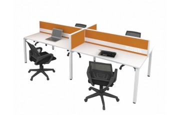 Package A-Desking System cluster of 4
