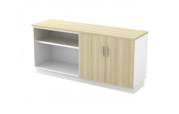 T-B-YOD7160 Open Shelf + Swinging Door Low Cabinet