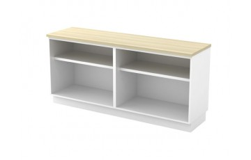 T-B-YOO7160 Dual Open Shelf Low Cabinet