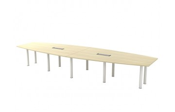 T-BBC30 Boat Shape Conference Table