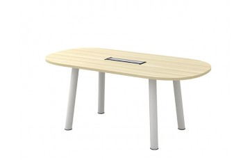 T-BOC18/24 Oval Conference Table