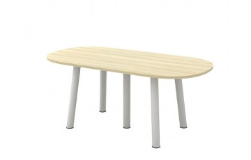 T-BOE18/24 Oval Conference Table