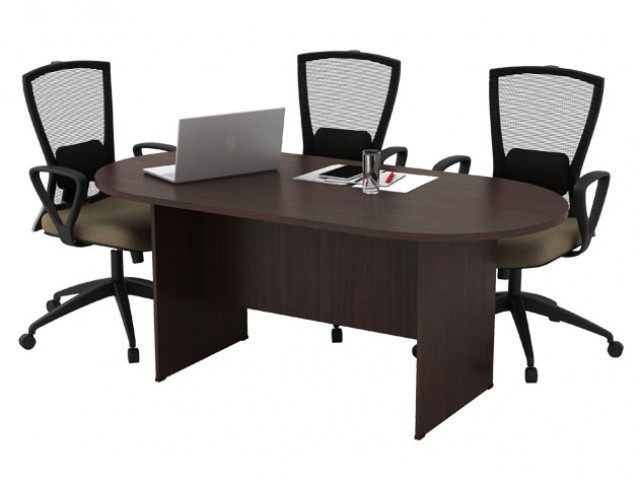 T-EXO18 Oval Conference Table