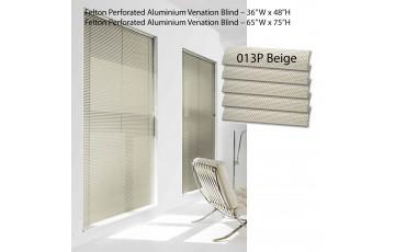 """Felton Perforated Aluminium Venation Blind 36"""" W x 48""""H"""