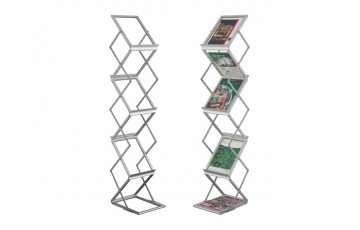 WB-LT361 Newspaper & Magazine Rack