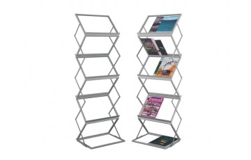 WB-LT362 Newspaper & Magazine Rack