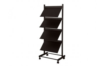 WB-LT379B Newspaper & Magazine Rack