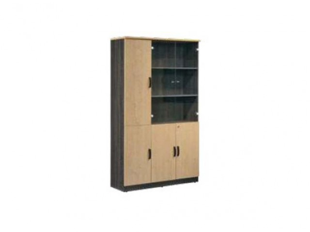 MP3-12042L Book Shelf With Glass Door