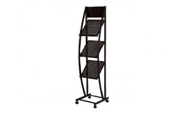 WB-MR1518 Newspaper & Magazine Rack