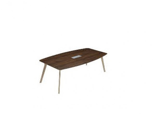 PX7-BS2412 Boat Shape Conference Table