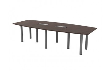 T-QBC30 Boat Shape Conference Table