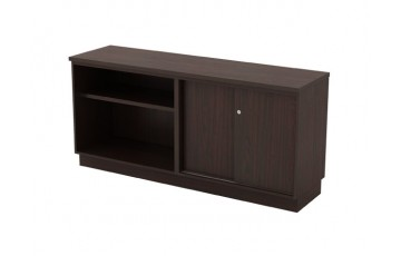 T-Q-YOS7160 Open Shelf + Sliding Door Low Cabinet