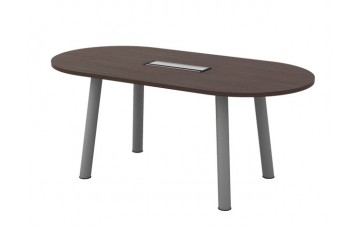 T-QOC18 Oval Conference Table
