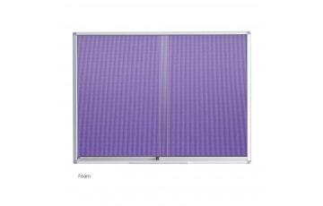 WB-FG23 Foam Board-Sliding Glass Aluminium Frame