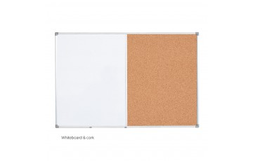 WB-DUC23 Dual Board (Whiteboard + Cork Board)