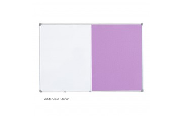 WB-DUT23 Dual Board (Whiteboard + Fabric Board)