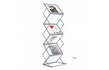 WB-LT362 Newspaper & Magazine Rack