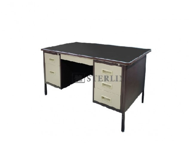 EI-S103/LT 5' Double Pedestal Desk