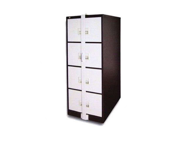 EI-S106/ABLB 4 Drawer Filing Cabinet With Locking Bar