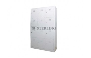 EI-S107 / S108 - 12 Compartments Steel Locker