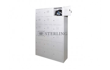 EI-S109 / S115 - 18 Compartments Steel Locker