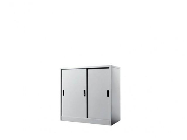 EI-S111 Half Height Cupboard With Steel Sliding Door