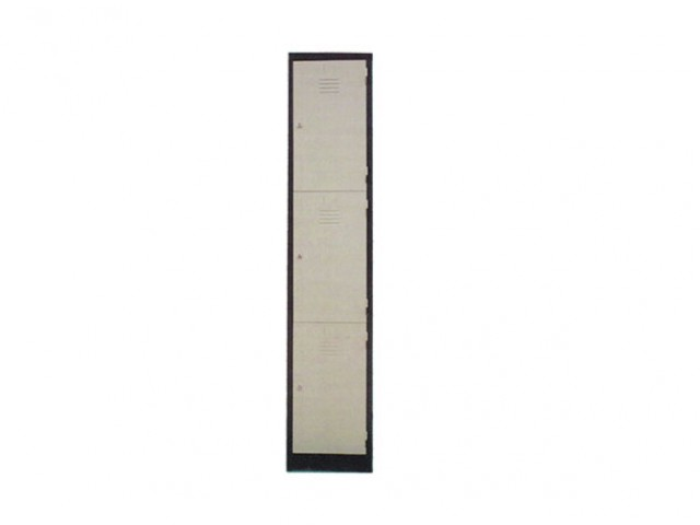 EI-S114/3 - 3 Compartments Steel Locker