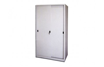 EI-S116 Full Height Cupboard With Steel Sliding door