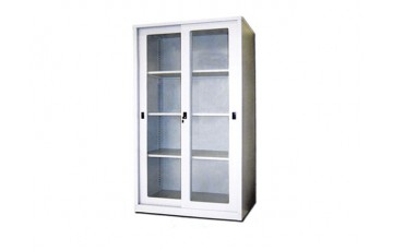 EI-S119 Full Height Cupboard With Glass Sliding Door