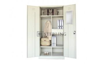 EI-S198 Full Height Wardrobe With Steel Swinging Door