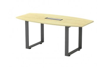 T-SQBB18 Boat Shape Conference Table