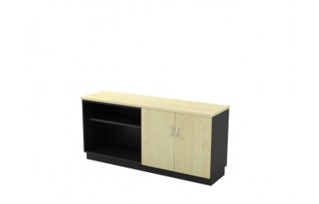 T-T-YOD7160 Open Shelf + Swinging Door Low Cabinet