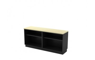 T-T-YOO7160 Dual Open Shelf Low Cabinet