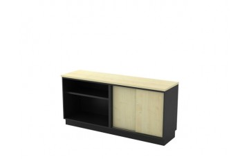 T-T-YOS7160 Open Shelf + Sliding Door Low Cabinet